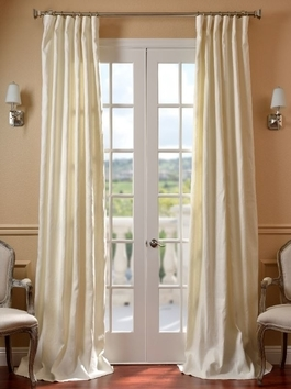 Designer Silk Embroidered Curtains
