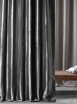 Faux Silk Taffeta Curtains