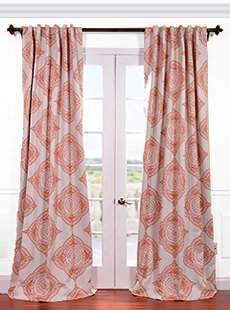 Patterned Blackout Curtains