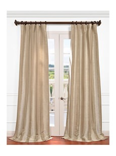 Shop By Pattern Faux Silk Curtains