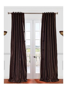Shop By Solid Faux Silk Curtains
