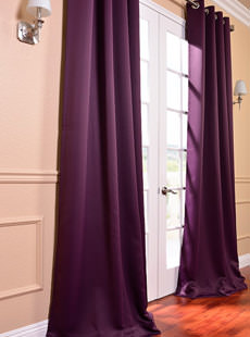 Solid Blackout Curtains