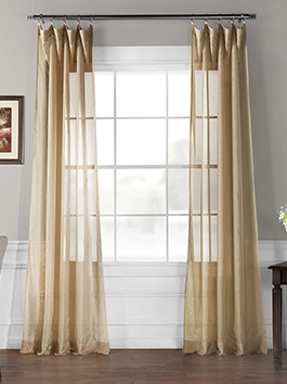 Signature Double Layered Voile Sheers