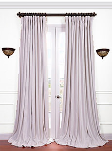 Signature Doublewide Blackout Velvet Curtains