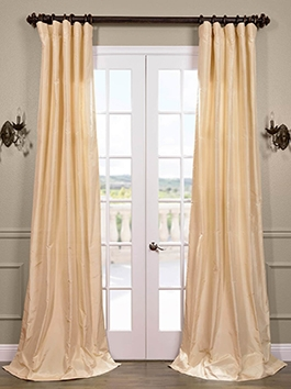 Taffeta Silk Curtains