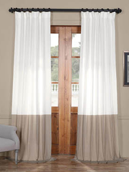 Veranda Linen Blend Curtains
