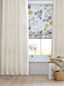 Yarn Dyed Faux Dupioni Silk Curtains