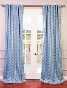 Fret Sky Blackout Curtain