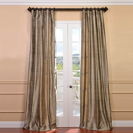 Cashmere Textured Dupioni Silk Curtain