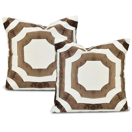 Mecca Printed Cotton Cushion Cover