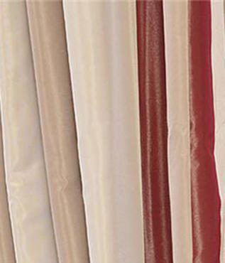 Manchester Faux Silk Taffeta Stripe Swatch