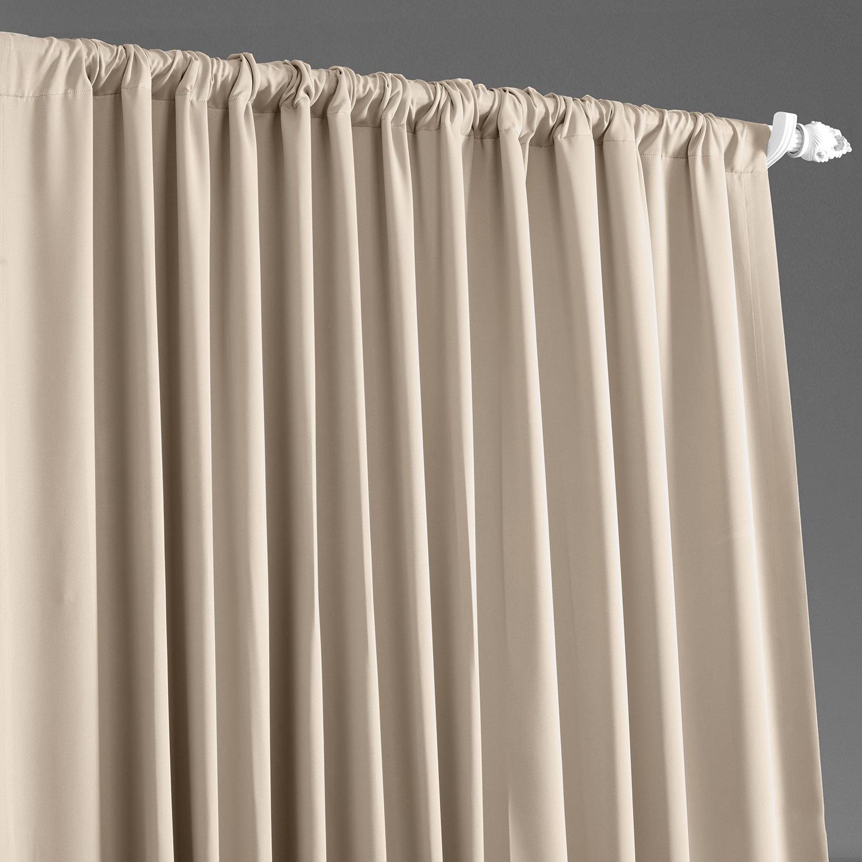 Eggnog Doublewide Blackout Curtain