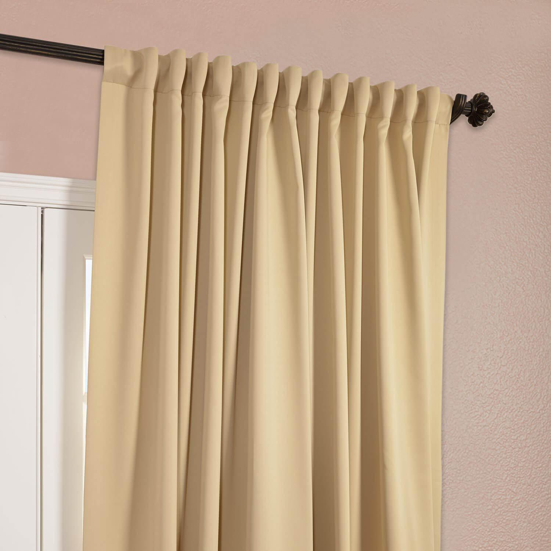 Biscotti Doublewide Blackout Curtain