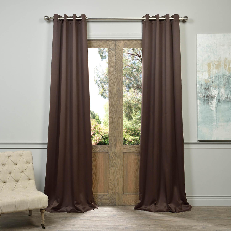 Grommet Java Blackout Curtain