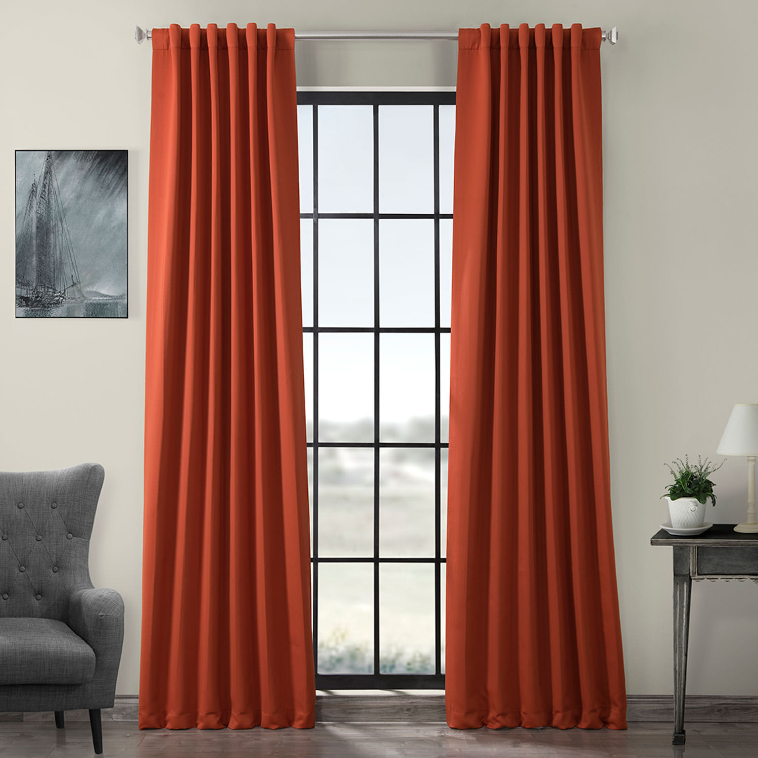 Blaze Blackout Curtain