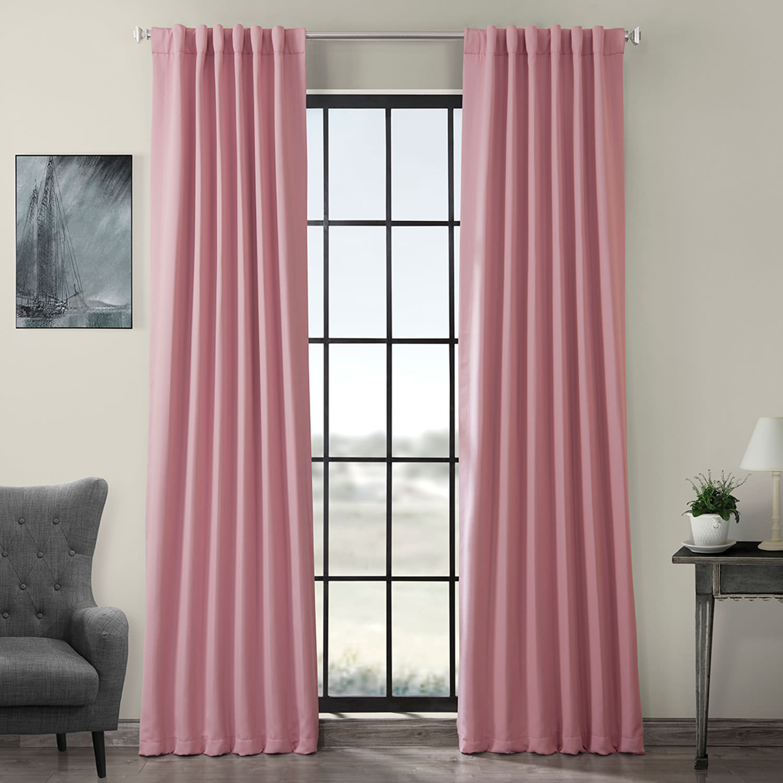 Precious Pink Blackout Curtain
