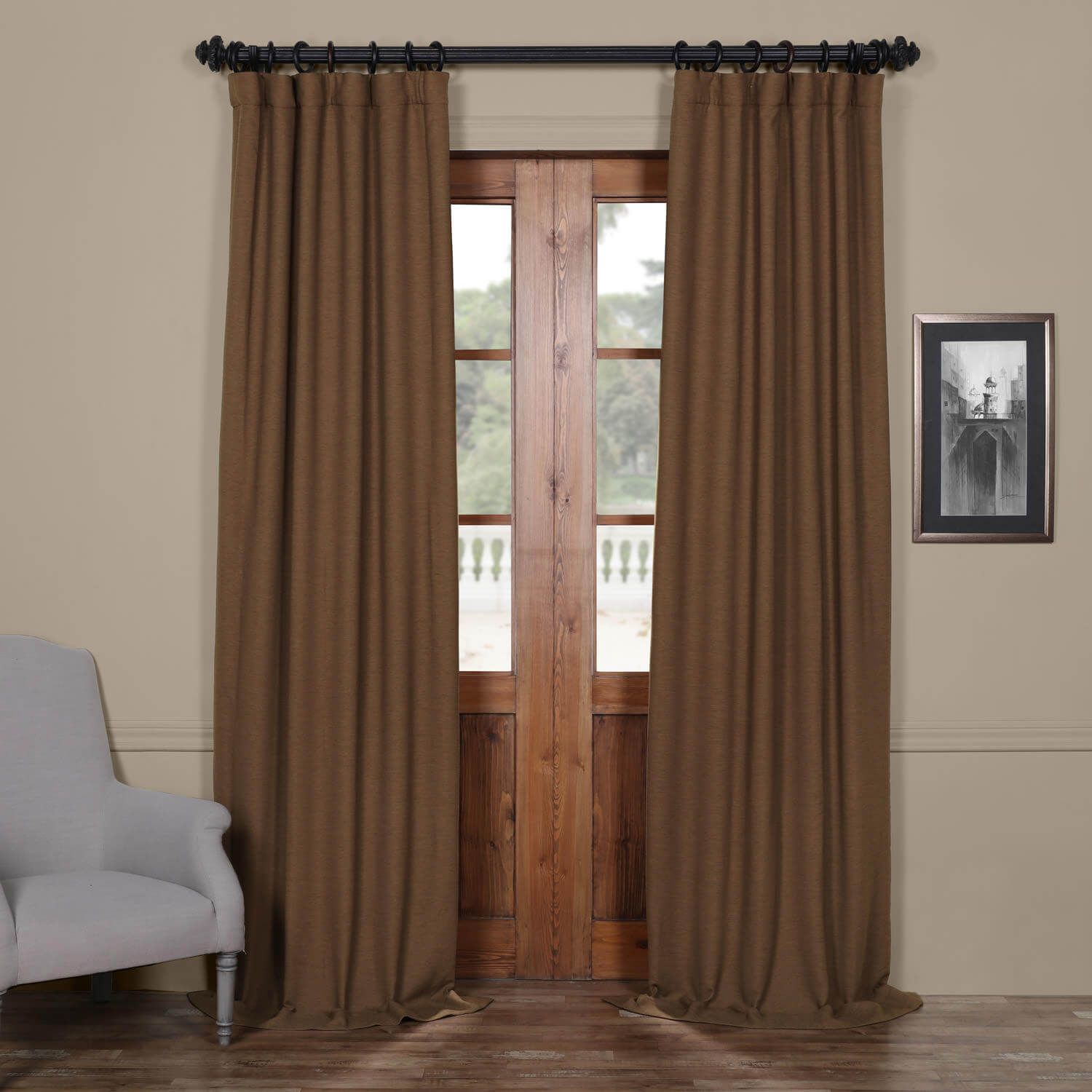 Turkish Coffee Bellino Blackout Curtain