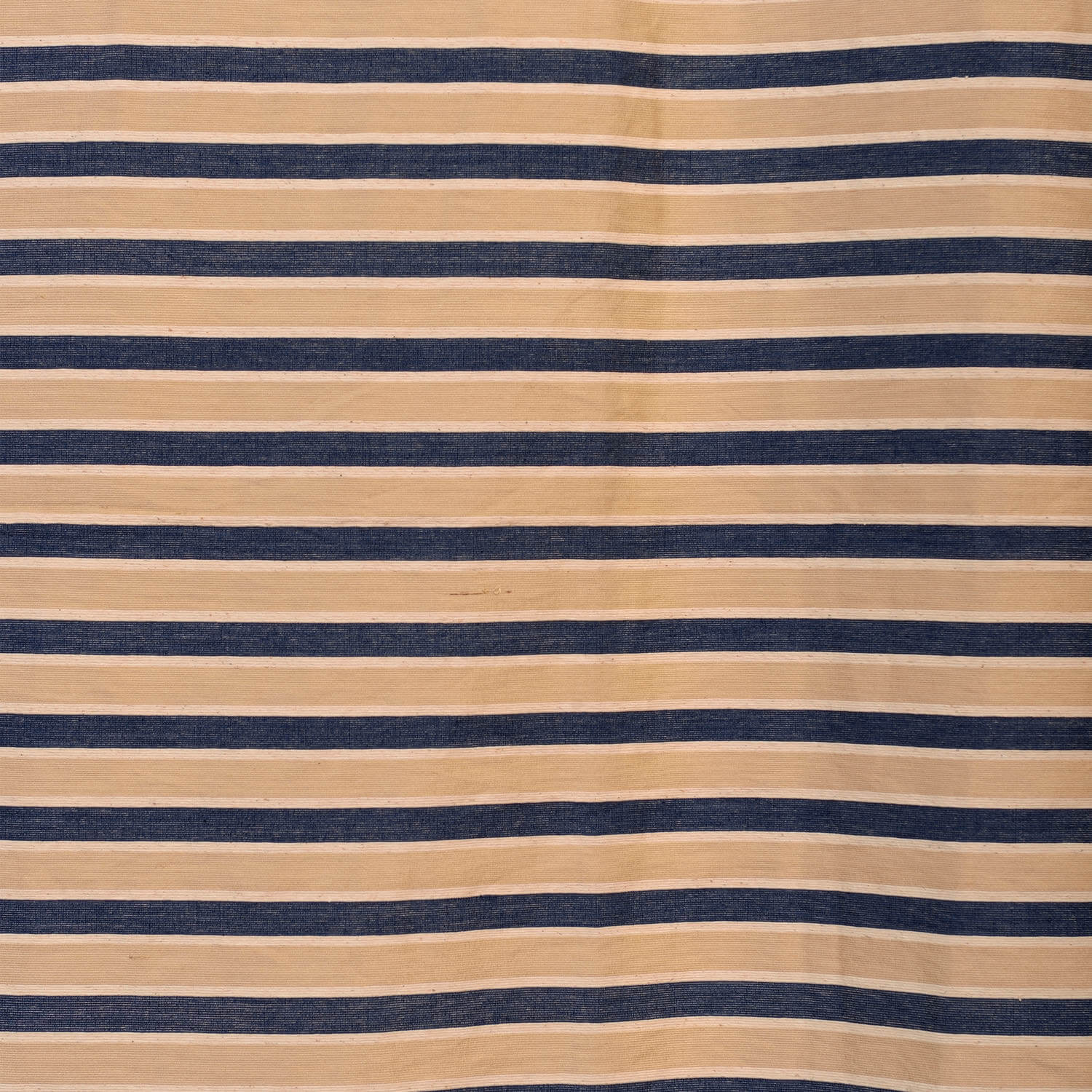 Blue & Beige Casual Cotton Swatch