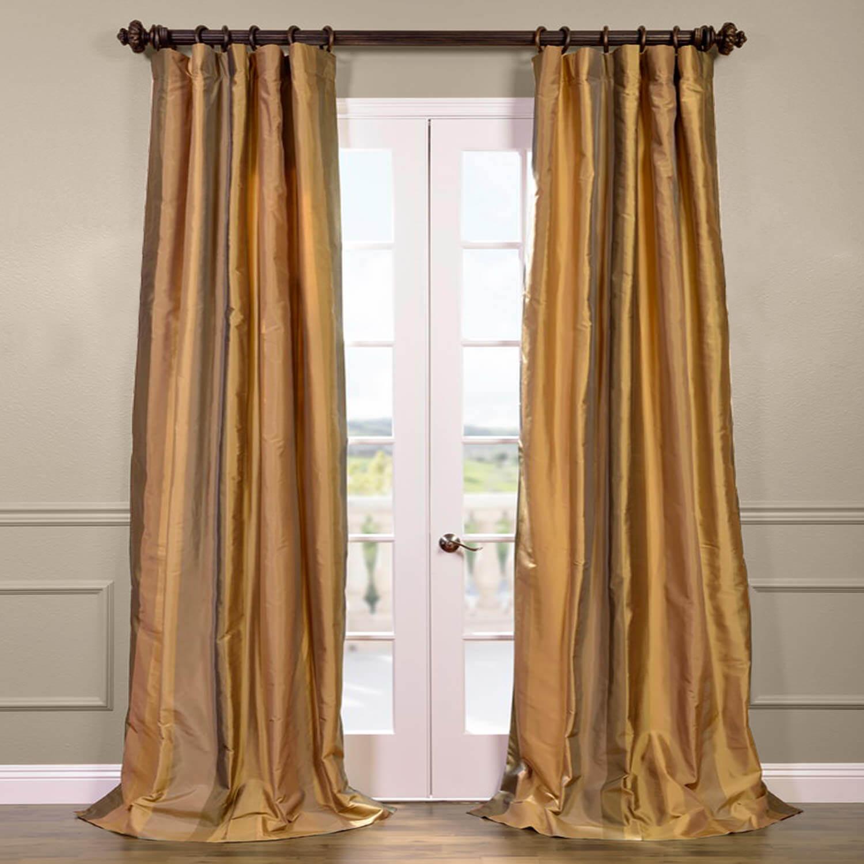 El-Dorado Silk Stripe Curtain