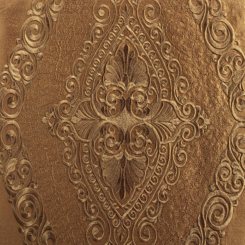 Chai Brown Gold Silk Swatch