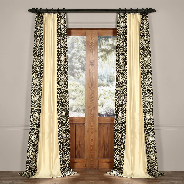Plazzo Royale Silk Curtain