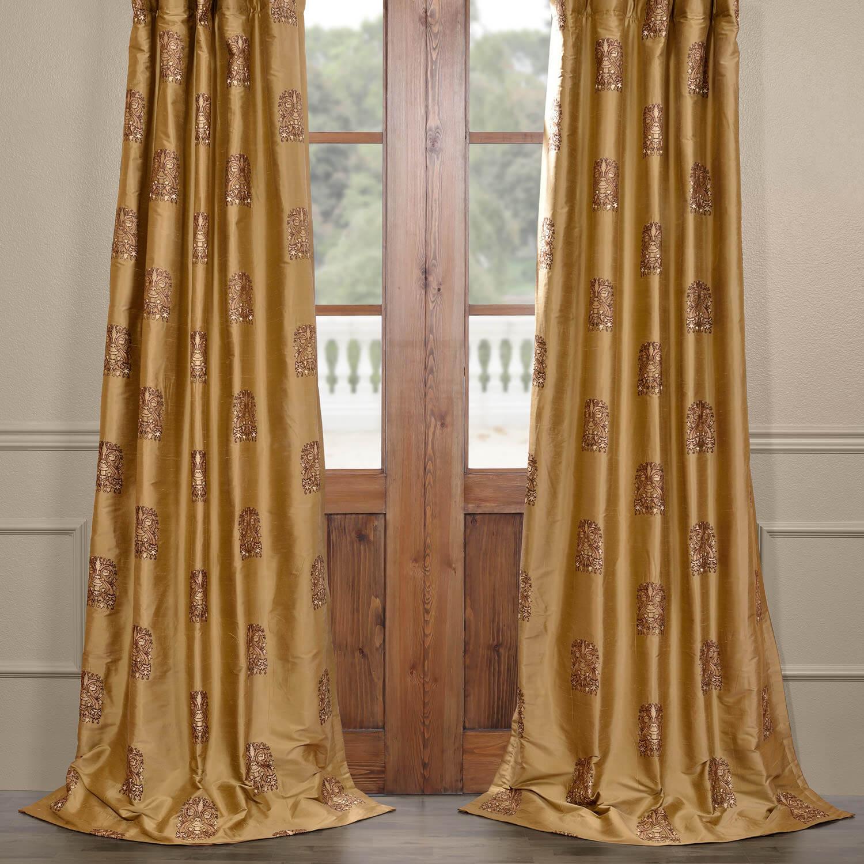 Windermere Silk Curtain