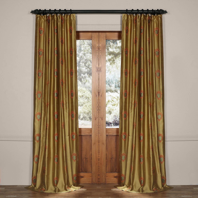 Kingston Silk Curtain