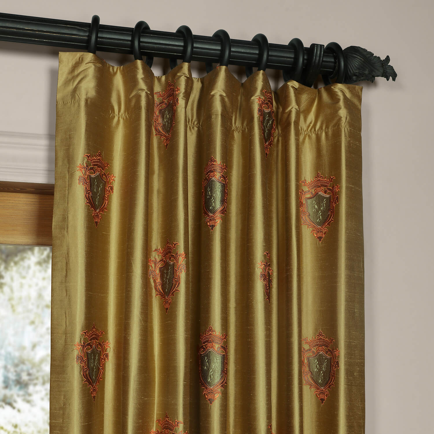 Kingston Silk Curtain