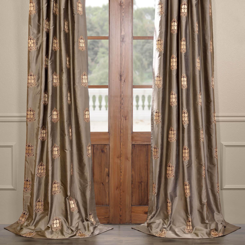 Atherton Silk Curtain
