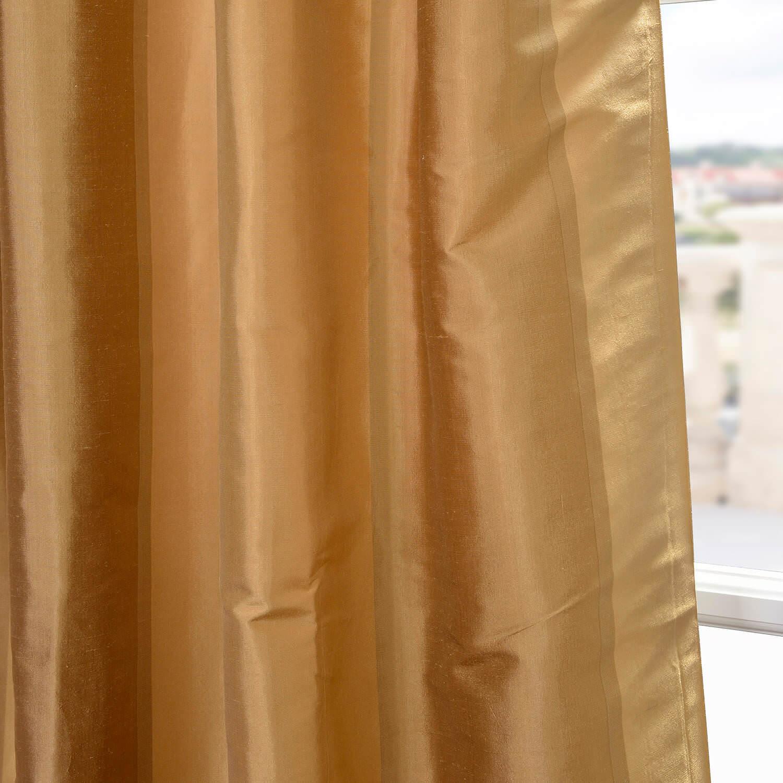 Eureka Silk Stripe Curtain