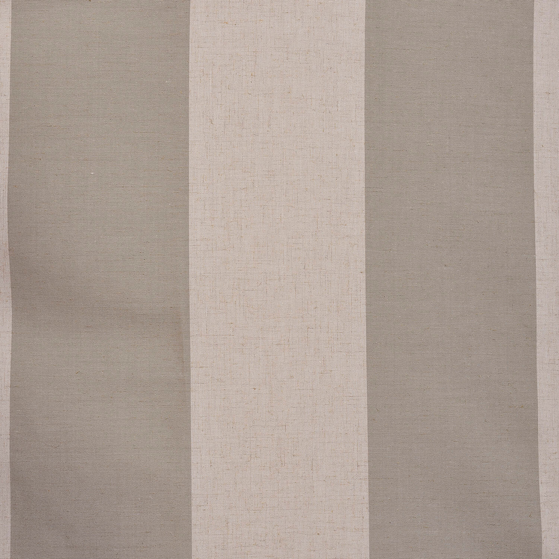 Del Mar Stone Linen Blend Stripe Swatch