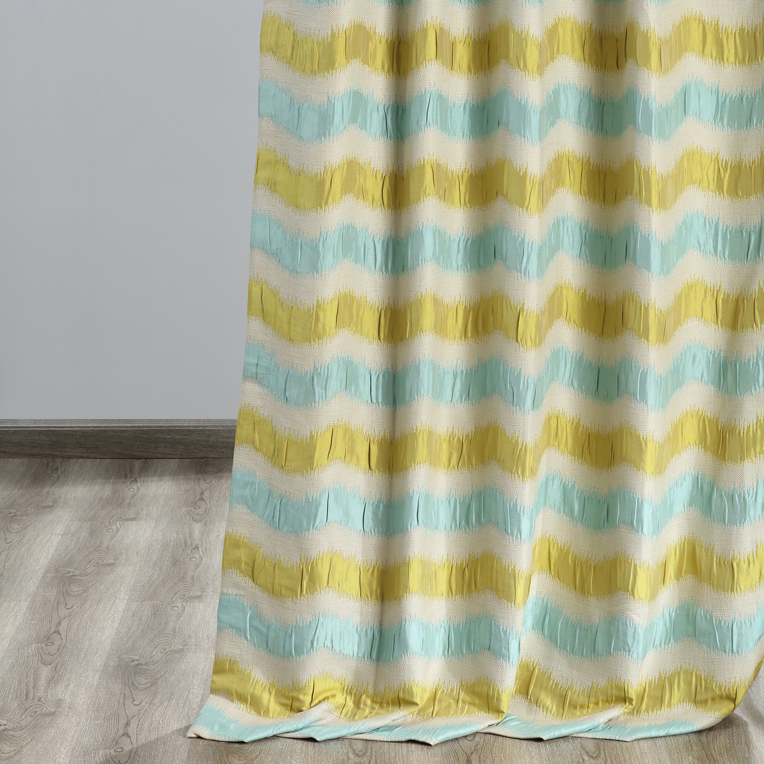 Espen Citron Faux Silk Jacquard Curtain