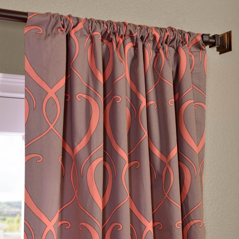 Panama Printed Cotton Curtain