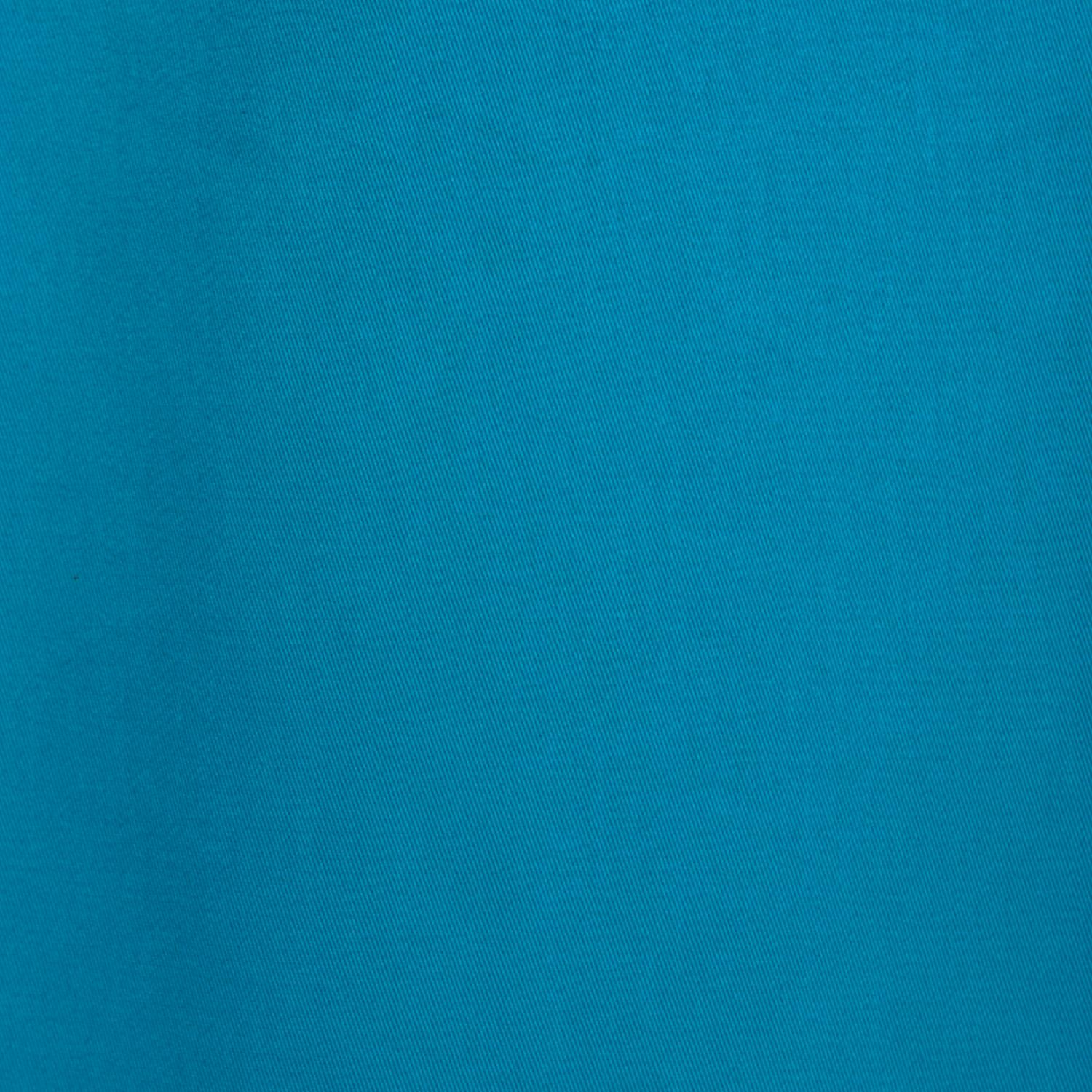 Capri Teal Cotton Twill Swatch