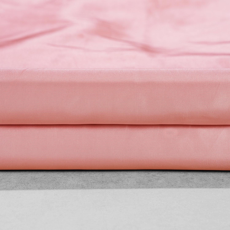 Flamingo PinkFaux Silk Taffeta Swatch