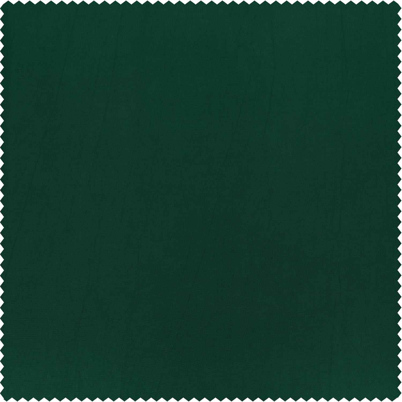 Emerald Green Faux Silk Taffeta Swatch