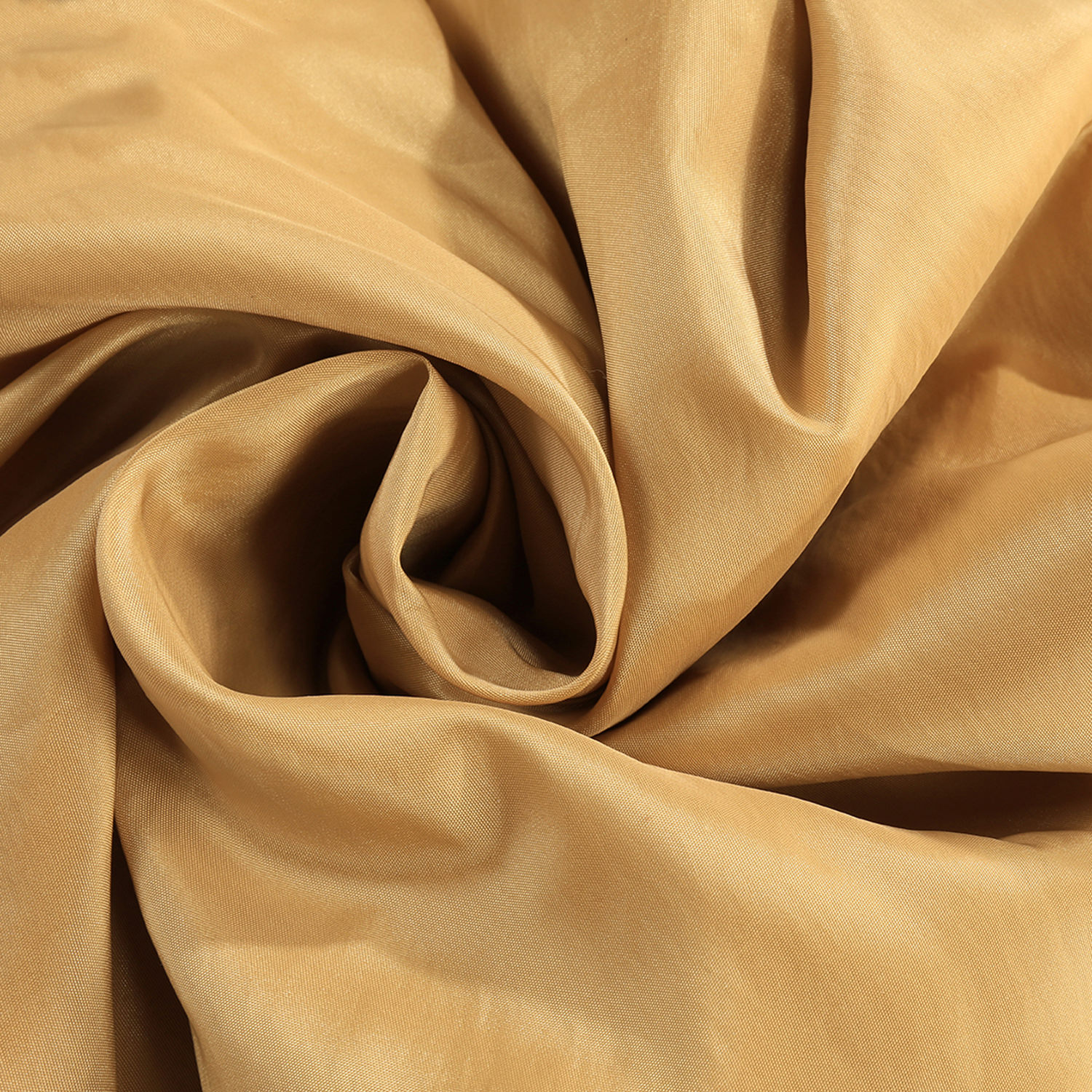 Honey Faux Silk Taffeta Swatch