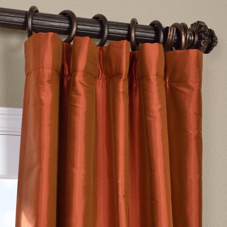 Cayenne Thai Silk Curtain