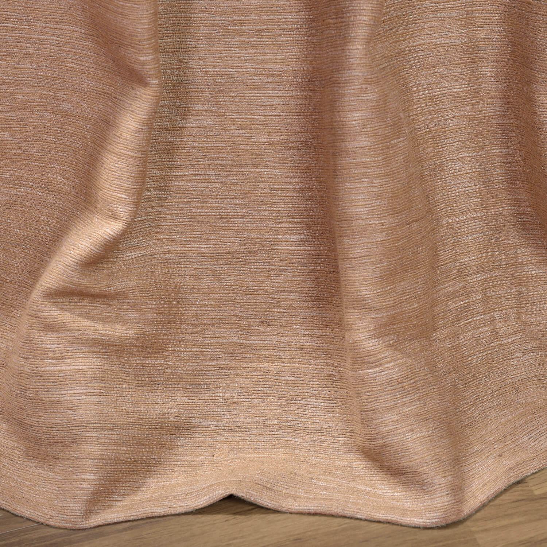 Sandalwood Raw Silk Curtain