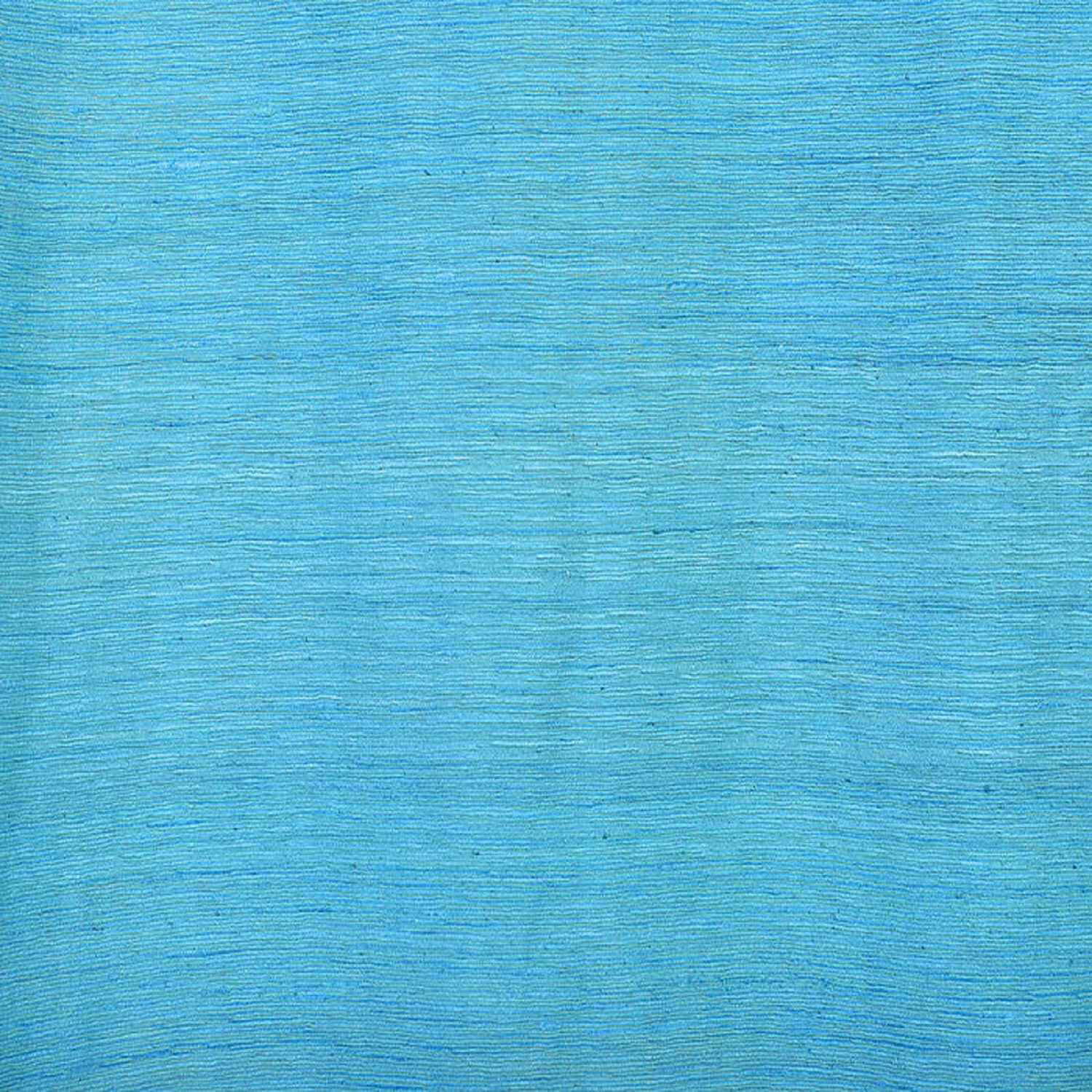 Cozumel Blue Raw Silk Swatch