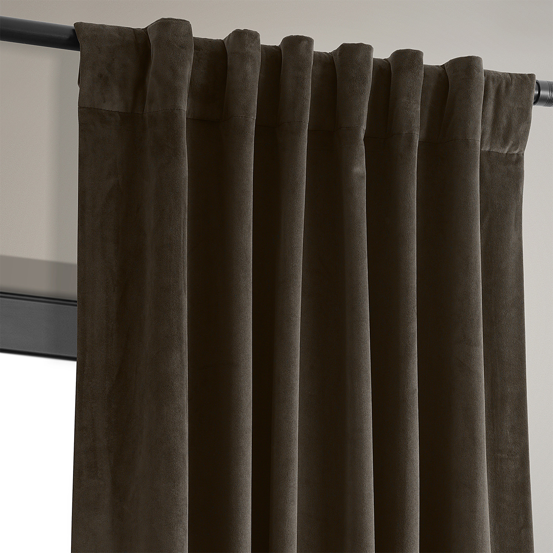 Signature Java Blackout Velvet Curtain