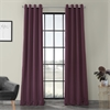 Aubergine Grommet Blackout Curtain