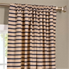Blue & Beige Hand Weaved Cotton Curtain