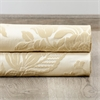 Magdelena Champagne French Pleat Faux Silk Jacquard Curtain