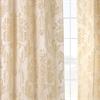 Magdelena Champagne Faux Silk Jacquard Curtain