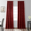 Astoria Red & Bronze Faux Silk Jacquard