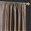 Silver Grey Thai Silk Curtain