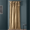 Ruched Gold Dust Thai Silk
