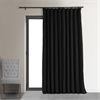 Black Doublewide Blackout Velvet