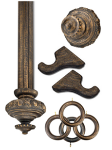 Antq. Bronze Wooden Hardware